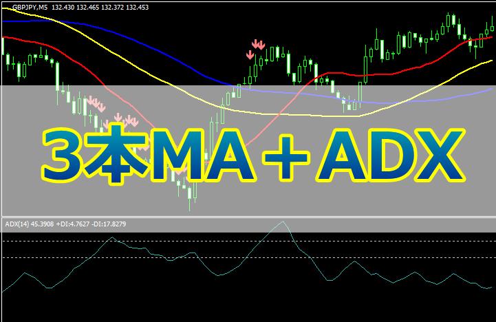 3本MA+ADXの手法